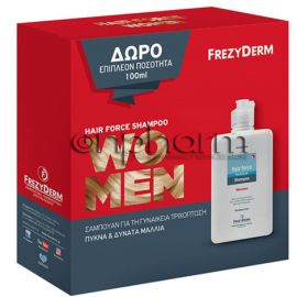 Frezyderm Promo Hair Force Shampoo Women 200 ml+Δώρο 100ml επιπλέον ποσότητα