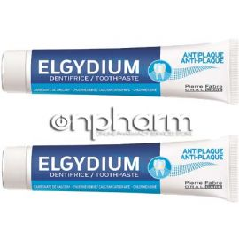 Elgydium Promo Anti-plaque Jumbo 2x100ml