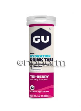 GU Electrolyte Tablets Tri-Berry,12 tabs