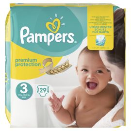 Pampers New Baby  Midi No3 (4-7 kg) 29 τεμάχια