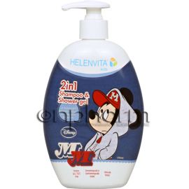 Helenvita Kids 2in1 Shampoo & Shower Gel 500ml Mickey