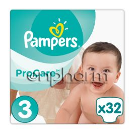 Pampers Procare Premium Protection No3 (5-9kg) 32Tεμάχια