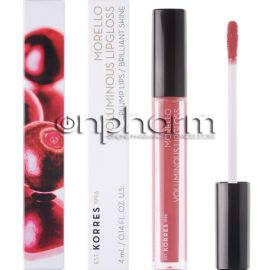 Korres Morello Voluminous Lip Gloss 16 Blushed Pink 4ml
