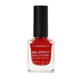 Κorres Gel Effect Βερνίκι Νυχιών Royal Red No53 11ml