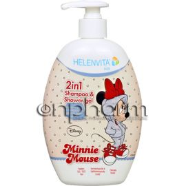 Helenvita Kids 2in1 Shampoo & Shower Gel 500ml Minnie