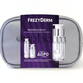 Frezyderm Promo Revitalizing Serum 30ml με Δώρο Frezyderm Night Force A+E Cream 10ml-Frezyderm Eye Balm 5ml