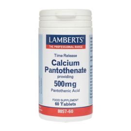 Lamberts Calcium Pantothenate 500mg 60Ταμπλέτες