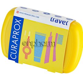 Curaprox Travel Set Κίτρινο