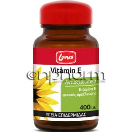 Lanes Vitamin E 400IU 30Μαλακές Κάψουλες