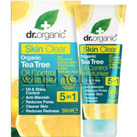 Dr.Organic Skin Clear-Organic Tea Tree Oil Control Moisturiser 50ml