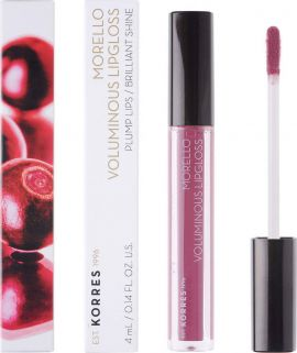 Korres Morello Voluminous Lip Gloss 27 Berry Purple 4ml