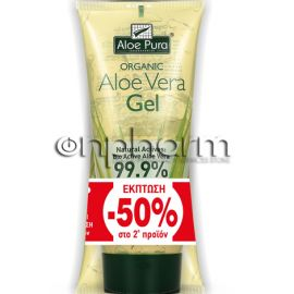 Optima Promo Aloe Vera Gel 99,9% 100ml -50% στο 2ο Προϊόν