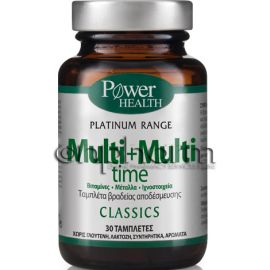 Power Health Platinum Multi+Multi Time 30Ταμπλέτες