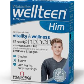 Vitabiotics WellTeen Him 30Tαμπλέτες
