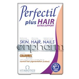 Vitabiotics Perfectil Plus Hair 60Ταμπλέτες