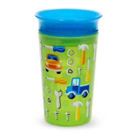 Munchkin Miracle 360° Sippy Cup Μπλε Πράσινο 296ml