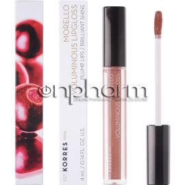 Korres Morello Voluminous Lip Gloss 31 Bronze Nude 4ml