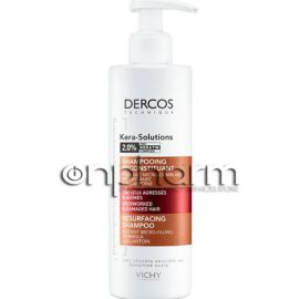 Vichy Dercos Kera Solutions Resurfacing Shampoo Σαμπουάν Eπανόρθωσης 250ml