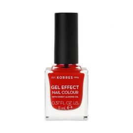 Korres Gel Effect Βερνίκι Νυχιών Coral Red No48 11ml