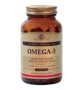 Solgar Omega-3 triple strength, 50s
