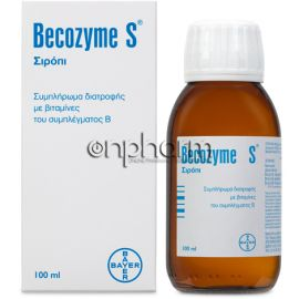 Bayer Becozyme-S Σιρόπι 100ml