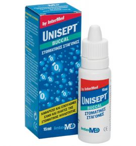 Intermed Unisept Buccal Drops 15ml