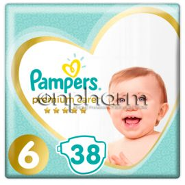 Pampers Premium Care N6 (13 kg+)  38Τεμάχια