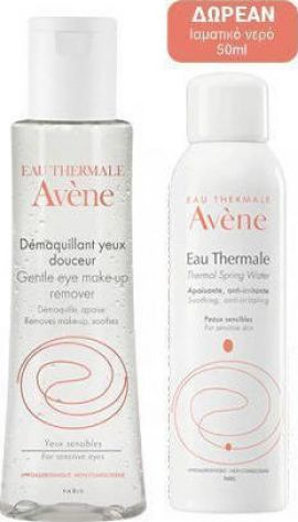 Avene Promo Demaquillant Douceur Yeux 125ml με Δώρο Eau Thermale Spring Water 50ml