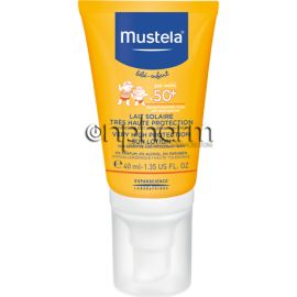 Mustela Face Sun Lotion Very High Protection SPF50+ 40ml