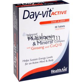 Health Aid Day-Vit Active 30Ταμπλέτες