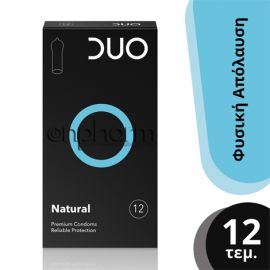 DUO Natural  Συσκευασία 12Tεμαχίων
