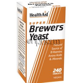 Health Aid Brewers Yeast 300mg 240Ταμπλέτες