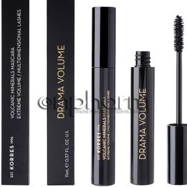 Korres Black Volcanic Minerals Drama Volume Mascara 01 Black 11ml