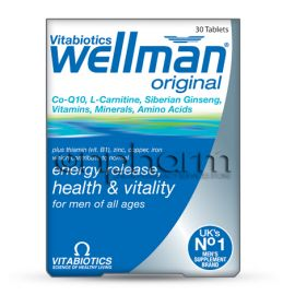 Vitabiotics Wellman Original 30 Ταμπλέτες