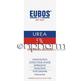 Eubos Urea 5% Washing Lotion Υγρό Σαπούνι 200ml