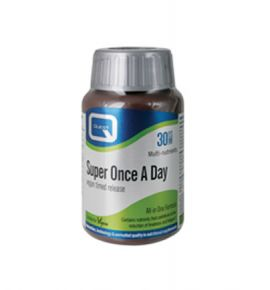 Quest Vitamins Super Once a Day Timed Release multivitamins with antioxidants & chelated minerals, 30's