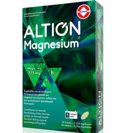 Altion Magnesium 375mg 30Δισκία