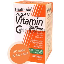 Health Aid Vitamin C 1000mg 30Ταμπλέτες