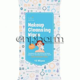 Cettua Makeup Cleansing Wipes 15Τεμάχια