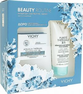 Vichy Promo Aqualia Thermal Gel-Cream 50ml με ΔΩΡΟ Purete Thermale 3 in 1 Cleanser 100ml