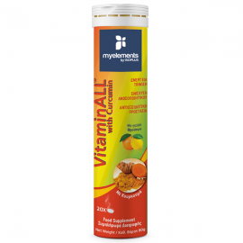 MyElements VitaminAll with Curcumin  20Αναβράζοντα Δισκία