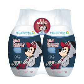 Helenvita Kids Promo 2in1 Shampoo & Shower Gel Mickey 2x500ml