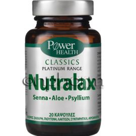 Power Health Platinum Nutralax 20κάψουλες