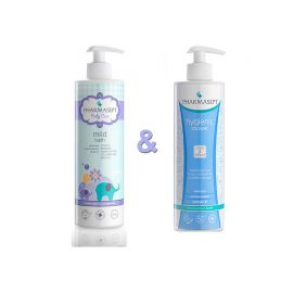 Pharmasept Promo Baby Mild Bath 500ml και Hygienic Shower 500ml