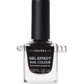 Korres Gel Effect Nail Colour 77 Sequins Plum 11ml