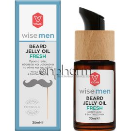 Vican Wise Men Beard Jelly Oil Fresh 30ml