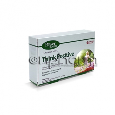 Power Health Think Positive 30Κάψουλες