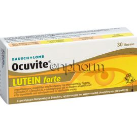 Ocuvite Lutein Forte 30Δισκία