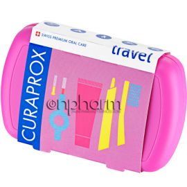 Curaprox Travel Set Ροζ