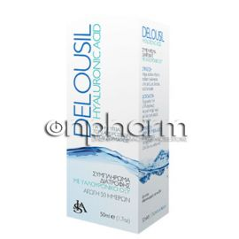 SJA Delousil Hyaluronic Acid Σταγόνες 50ml
